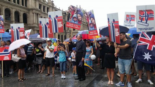 Brisbane protest 2