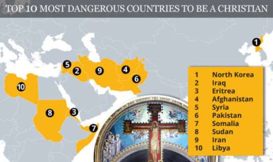 10 most dangerous countries to be a Christian Foto StirileProTV