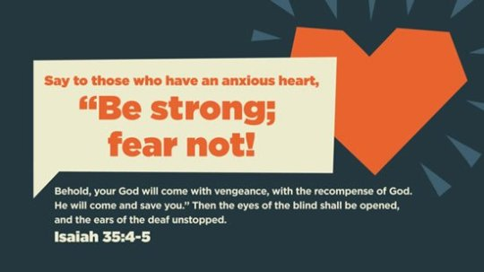 Isaiah 35 4